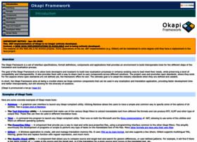 okapi.sourceforge.net