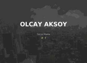 olcayaksoy.com