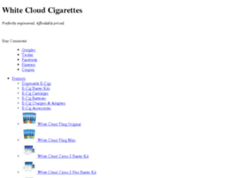 old.whitecloudelectroniccigarettes.com