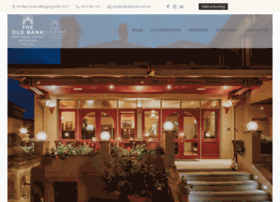 oldbankhotel.com.au