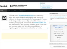 oldforum.wordlab.com