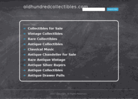 oldhundredcollectibles.com