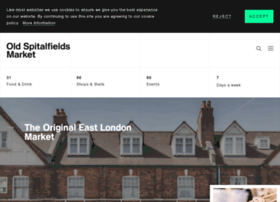 oldspitalfieldsmarket.com