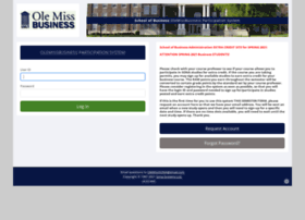 olemissbusiness.sona-systems.com