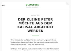 oleoleole.de