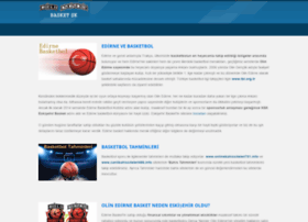 olinedirnebasket.com