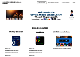 oliveiramiddleschoollibrary.weebly.com