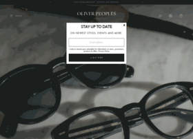 oliverpeoples.com