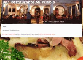 olverarestaurantemipueblo.com