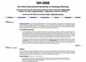 om2008.ontologymatching.org