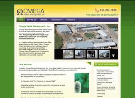omegawaste.com