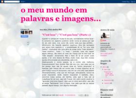 omeumundoempalavraseimagens.blogspot.com