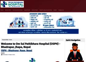 omsaipathibharahospital.com.np
