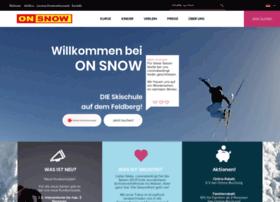 on-snow.de