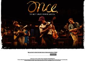 oncemusical.co.uk