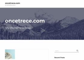 oncetrece.com