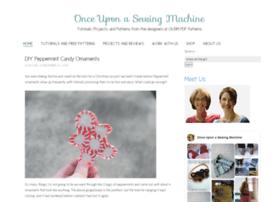onceuponasewingmachine.com