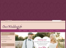 oncewedding.com