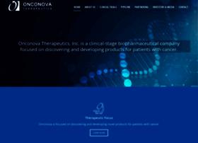 onconova.com