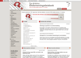 ondernemingsdatabank.indicator.nl