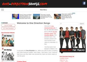one-directionsongs.com