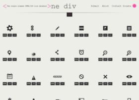one-div.com