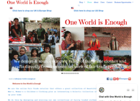 one-world-is-enough.net
