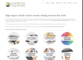 one2oneresumes.com.au