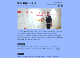 onebigfield.com