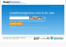 onebillionpageviews.com