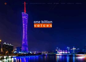 onebillionvoices.de