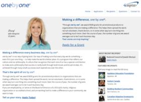 onebyone.4imprint.com