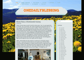 onedailyblessing.wordpress.com
