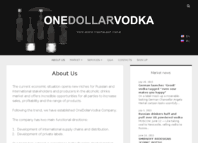 onedollarvodka.com