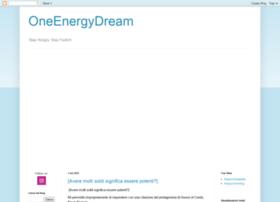 oneenergydream.blogspot.com