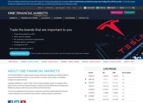 onefinancialmarkets.com