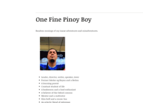 onefinepinoyboy.wordpress.com