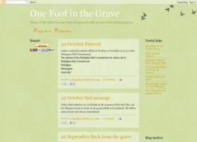 onefootingrave.blogspot.com