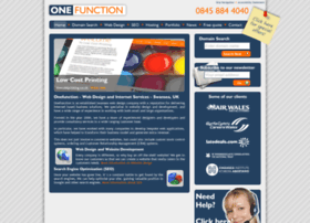 onefunction.co.uk