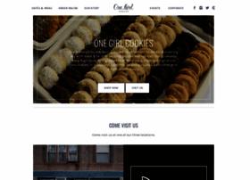 onegirlcookies.com