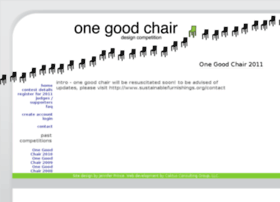 onegoodchair.com