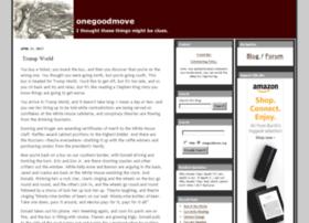 onegoodmove.org