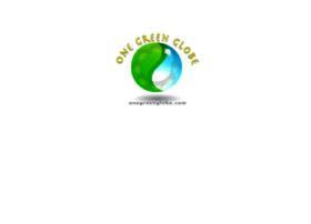 onegreenglobe.com