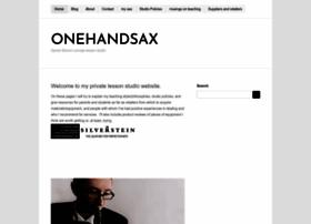onehandsax.com