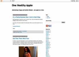 onehealthyapple.blogspot.com