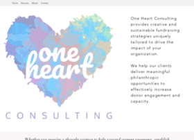 oneheartconsulting.com