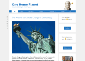 onehomeplanet.com