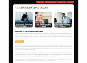 onehourpaydayloans.me