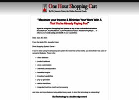 onehourshoppingcart.com