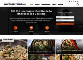 oneingredientchef.com